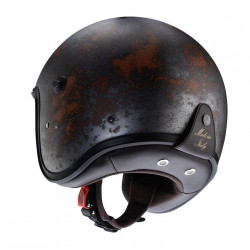 Caberg jet freeride matt gun metal casco
