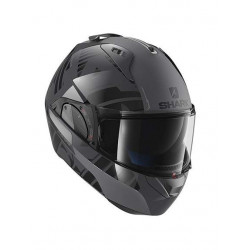 shark evo one 2 lithion dual nero antracite casco