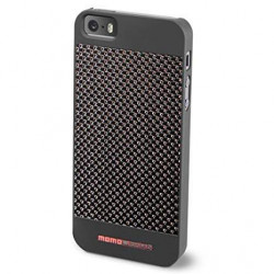 momo desing COVER per I phone 5 - 5S  real carbon fiber