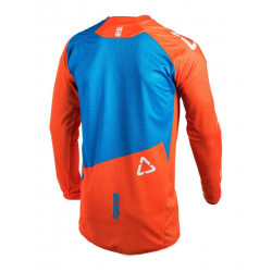 leatt JERSEY GPX 2.5 Junior lime/teal maglia