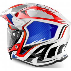 airoh commander red gloss casco offroad