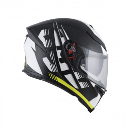 agv k-5 S MULTI PLK DARKSTORM MATT BLACK/RED casco