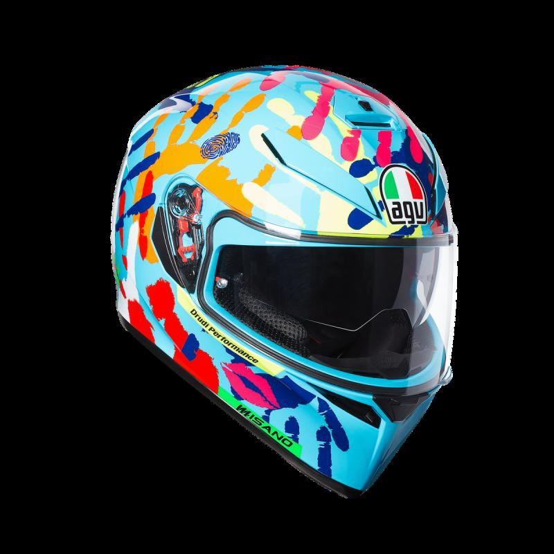 agv k3 sv morbidelli 2017 top pinlock replica casco