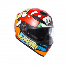 agv k3 sv bulega top pinlock replica casco