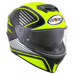 suomy SY STELLAR cruiser yellow fluo casco
