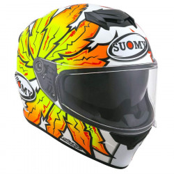 suomy SY STELLAR boost orange casco