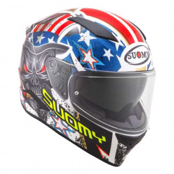 suomy speedstar matt red amlet casco integrale