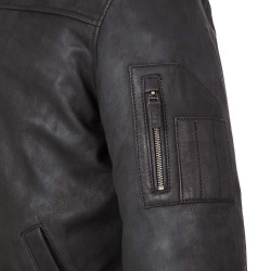 tucano urbano tom nero giacca in pelle