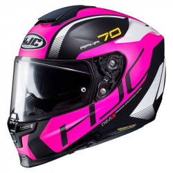 HJC RPHA 70 vias MC2SF casco
