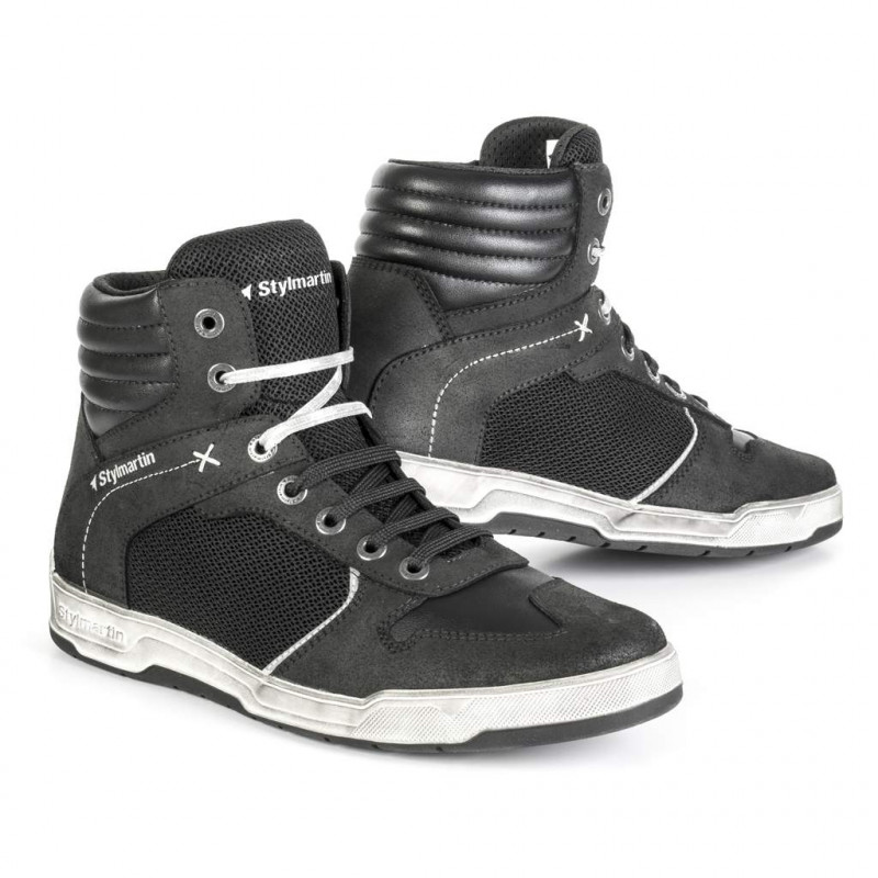 stylmartin atom nero/nero scarpe
