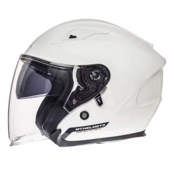 MT Helmet avenue gloss pearl white casco
