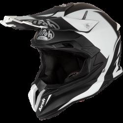 Airoh Terminator open visor color white casco cross