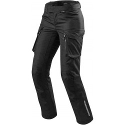 Rev'it outback lady nero pantaloni tre strati
