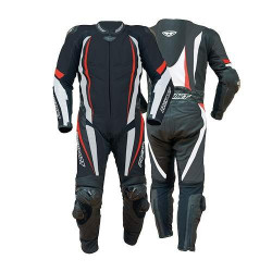 Prexport misano black/red/white tuta intera