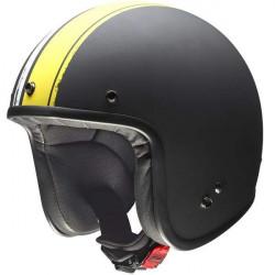 Givi 20.7 oldster nero opaco/giallo casco