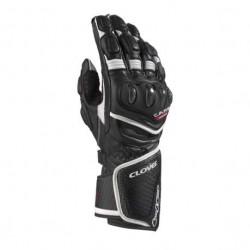 Clover RS8-Kangaroo nero/nero guanti