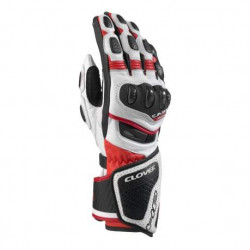 Clover RS8-Kangaroo bianco/rosso guanti