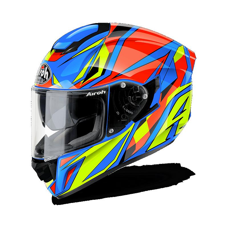 Airoh ST501 thunder blue gloss casco