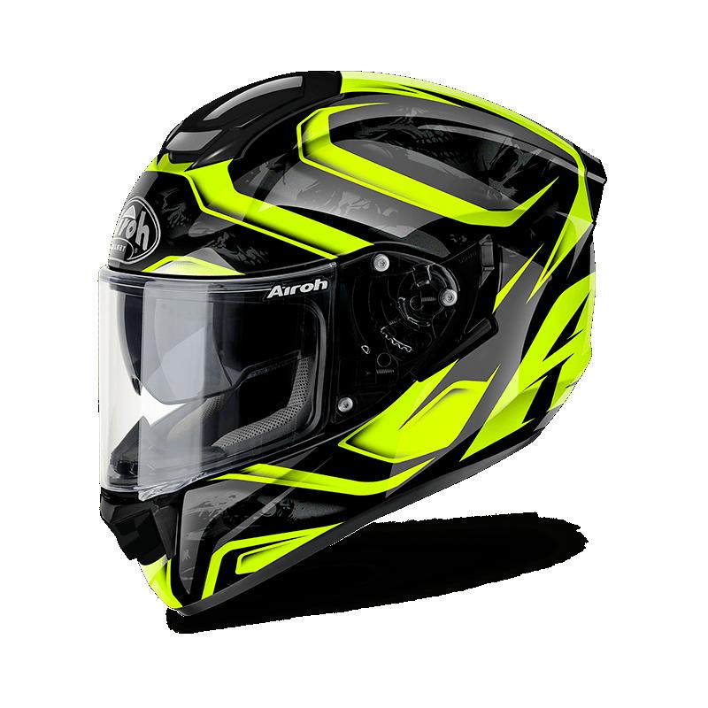 Airoh ST501 dude yellow gloss casco