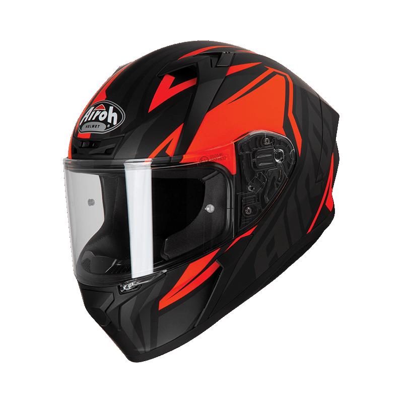 Airoh valor impact orange casco