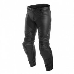 Dainese assen leather pants black pantaloni pelle