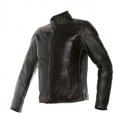 Dainese mike nero giacca pelle