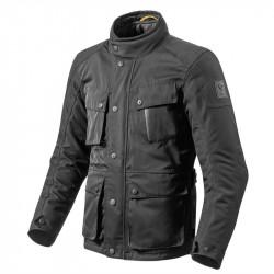 giacca moto cittadina jackson nero rev'it