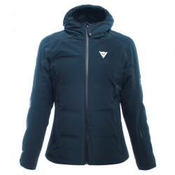 DAINESE SKI DOWNJACKET LADY BLACK-IRIS GIACCA