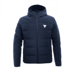 Dainese ski downjacket man black-iris giacca