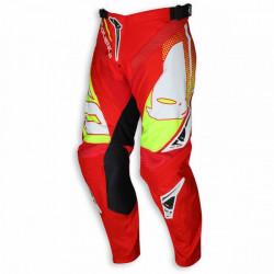 Pantaloni Cross Ufo SEQUENCE Giallo Rosso
