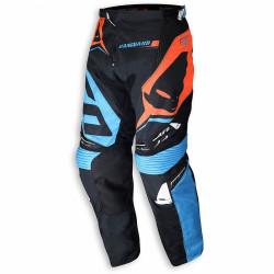 Pantaloni cross Ufo VANGUARD Blu Arancio