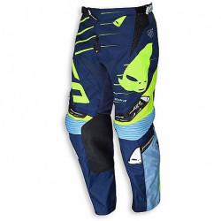 Pantalone Cross Enduro Ufo Hydra Blu Giallo Nero Neon