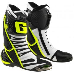 STIVALI GP1 EVO WHITE/BLACK/YELLOW GAERNE