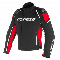 GIACCA RACING 3 D-DRY NERO/NERO/ROSSO DAINESE