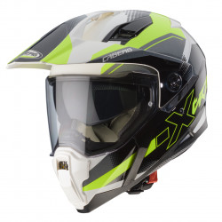 CASCO XTRACE SPARK WHITE / ANTRACHITE / YELLOW FLUO CABERG