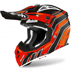 CASCO AVIATOR ACE ART ORANGE GLOSS AIROH