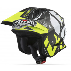 CASCO TRR S CONVERT YELLOW MATT AIROH
