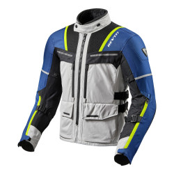REV'IT OFFTRACK SILVER/BLU GIACCA OFFROAD