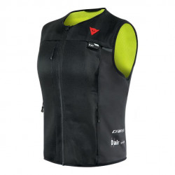 DAINESE SMART JACKET LADY-620-BLACK/FLUO-YELLOW