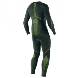 DAINESE D-CORE DRY SUIT-620-BLACK/FLUO-YELLOW