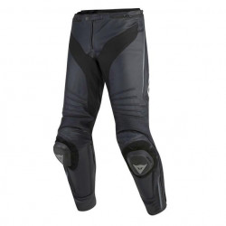DAINESE MISANO LEATHER PANTS-685-BLACK/BLACK/ANTHRACITE