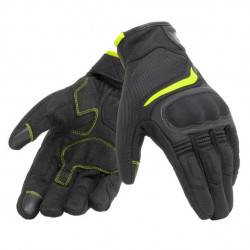 DAINESE AIR MASTER GLOVES-620-BLACK/FLUO-YELLOW