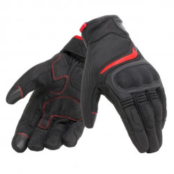 DAINESE AIR MASTER GLOVES-606-BLACK/RED