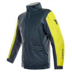 DAINESE STORM JACKET-13A-ANTRAX/FLUO-YELLOW