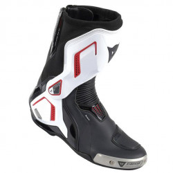 DAINESE TORQUE D1 OUT AIR BOOTS BLACK/WHITE/LAVA-RED