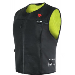 SMART JACKET DAINESE 620 BLACK FLUO YELLOW