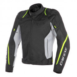 AIR MASTER TEX JACKET BLACK/GLACIER-GRAY/FLUO-YELLOW Dainese