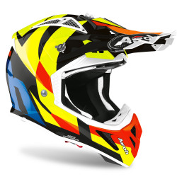CASCO AVIATOR ACE TRICK BLACK GLOSS AIROH