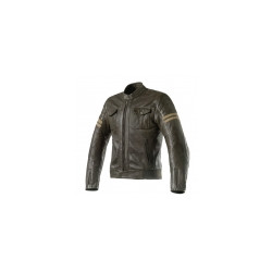 GIACCA BLACKSTONE LEATHER  OLIVE | CLOVER