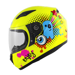 CASCO JUNIOR KJ04 BOOM GLOSSY YELLOW | KAPPA